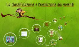 La classificazione e l'evoluzione dei viventi