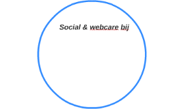 Social & webcare bij