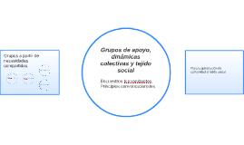 Grupos de apoyo, dinámicas colectivas y tejido social
