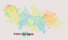 Valor del agua