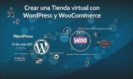 Crear una Tienda virtual con Wordpress y Woocommerce