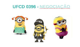 UFCD 0396 - NEGOCIAÇÃO