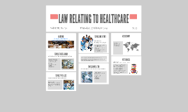 LAW RELATING TO HEALTHCARE