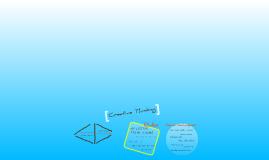Creative Thinking in progress