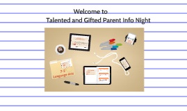 Talented and Gifted Parent Info Night