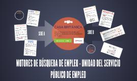 MOTORES DE BUSQUEDA DE EMPLEO - UNIDAD DE PRESTACION DE SERV
