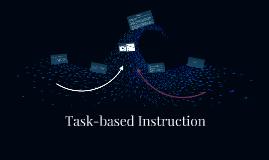 Task-based Instruction
