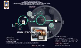 Instrumentacion analizador de redes
