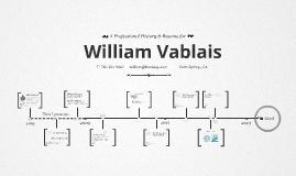 Timeline Prezumé by william vablais