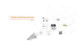 EID 100 - Final Project Proposal
