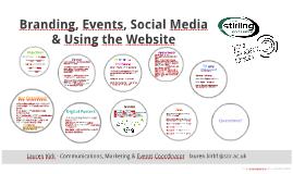 Sport Website, Social Media, Branding & PR