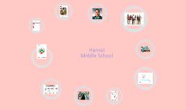 Hansol middle school(한솔중학교)