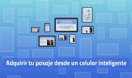 Copy of Venta de pasajes en aplicaciones móviles