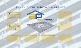 PANEL CONSTRUCTIVO AISLANTE