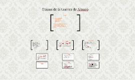 Copy of Etapas de la Guerra de Arauco