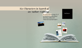 Six Characters in Search of an Author: Lighting