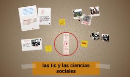 Copy of Copy of las tic y las ciencias sociales