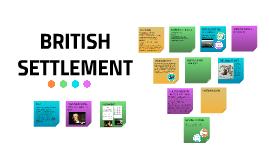 British Settlement Year 9 HASS