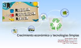 Crecimiento económico y tecnologías limpias
