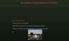 Jerusalem: Palestinians or Israelis