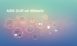 ABS GRILL ON WHEELS