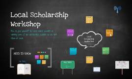 Local Scholarship Workshop