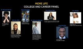 More Life Panel