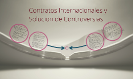 Copy of CONTRATOS INTERNACIONALES Y SOLUCION DE CONTROVERSIAS
