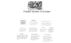 Fuedal System in europe