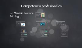 Competencia profesionales