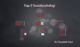 Kap.3 Sosial psykologi