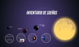 INVENTARIO DE SUEÑOS