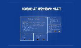 Housing at Mississippi State