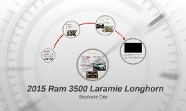 Ram 3500 Laramie Longhorn