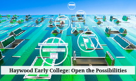 Haywood Early College: Open the Possibilities