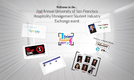 2nd Annual University of San Francisco Hospitality Managemen