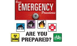 Emergency Preparedness at 750