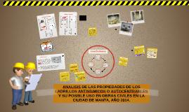 ANALISIS DE LAS PROPIEDADES DE LOS LADRILLOS ANTISÍSMICOS O