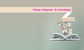 Trabajo integrador de metodología