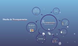 Diseño de trasnparencias