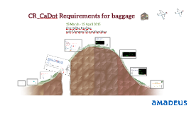 CR_CaDot Requirements for baggage