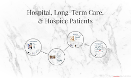 Hospital, Long-Term Care, & Hospice Patients