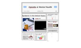 Opioid & Mental Health