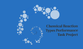 Chemical Reaction Types Performance Task Project