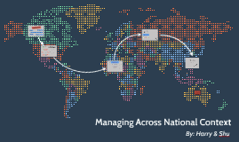 Managing Across National Context