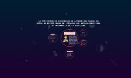 Copy of LA APLICACIÓN DE EJERCICIOS DE LATERALIDAD MANUAL EN NIÑOS D