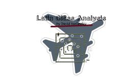 Latin Class Analysis