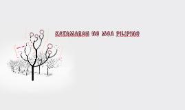 KATAMARAN NG MGA PILIPINO