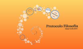 Protocolo Filosofía