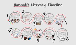 Hannah's Literacy Timeline